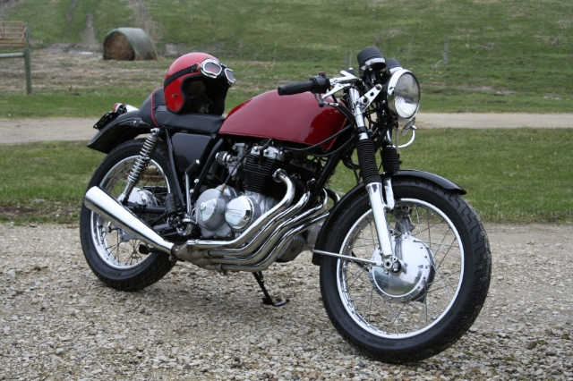 Cafe Racer for sale. I am selling one of my motorcycles, a 1977 Honda CB400f