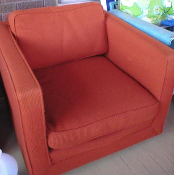 Lovely Orange Chair