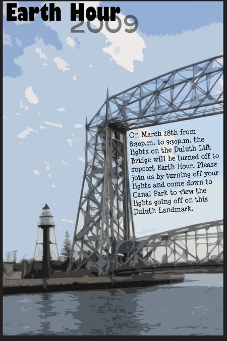 Lift Bridge Poster