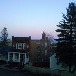 Hillside Tree Hits the Medium Time
