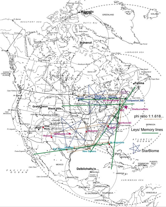 Ley Lines Map Us ley lines map united states   BlazeCard1's blog