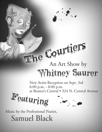 The Courtiers, An Art Show by Whitney Saurer