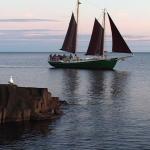 Sailing on the Hjordis