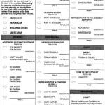 Sample Ballot for Superior, Douglas County, Wisconsin 2010 General Election