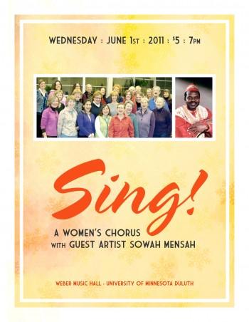 Sing! poster
