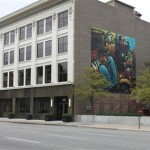 """The Infamous Dr. Thunder paints a mural in Indianapolis that MSNBC dubs a """"must see"""""""
