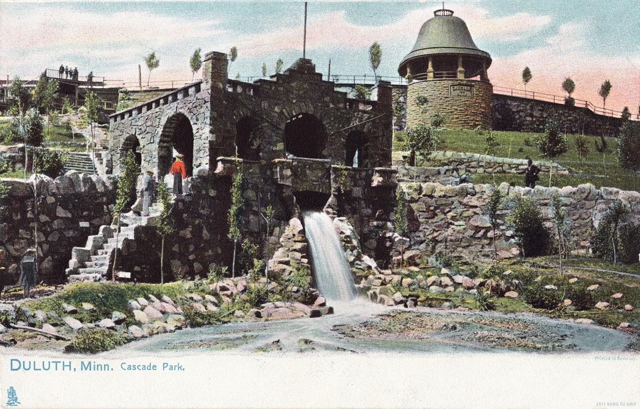 Cascade-Park-Postcard-Duluth