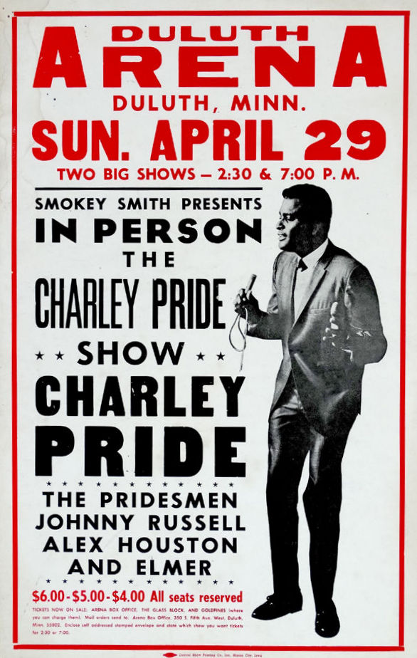 Charley Pride Duluth Concert