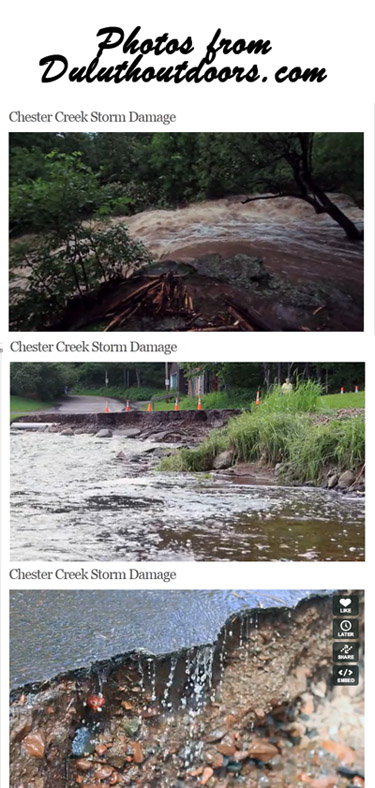 Chester Creek Damage