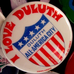 Duluth Button - All-America City