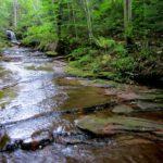 Lost Creek Falls Trail in Bayfield County