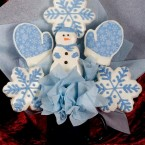 Let it Snow Cookie Bouquet