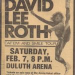 Video Archive: David Lee Roth 1987 Duluth Concert Promo