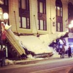 Greysolon Plaza overhang collapses