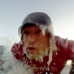 Lake Superior Surfing Ice Beard - by Ryan Patin