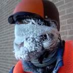 Worker Ice Beard - Photo by Justin Schuetz