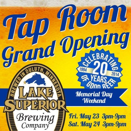 Lake Superior Brewing Tap Room Grand Opening