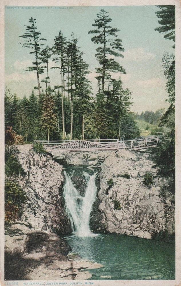 Waterfall at Lester 1910