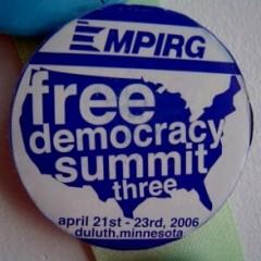 Duluth Button - Free Democracy Summit