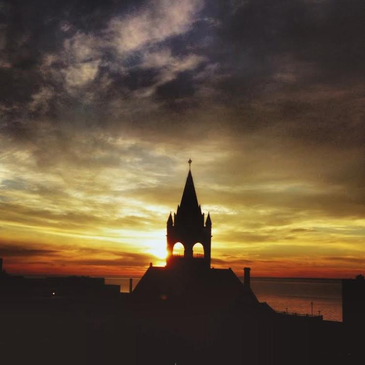 Duluth Sunrise Silhouette