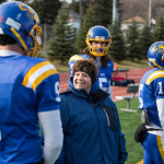 College football's coaching nun in New York Times