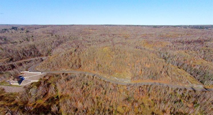 Skyline Parkway - Richard A. Peterson Trust Land
