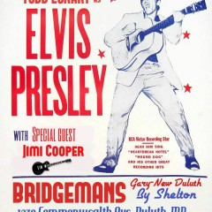 Todd Eckart as Elvis at Bridgeman's