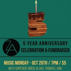 Zeitgeist Arts Five-year Anniversary Music Monday