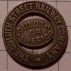 Duluth Superior Railway Company Token