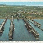 Postcards from Duluth's ore docks