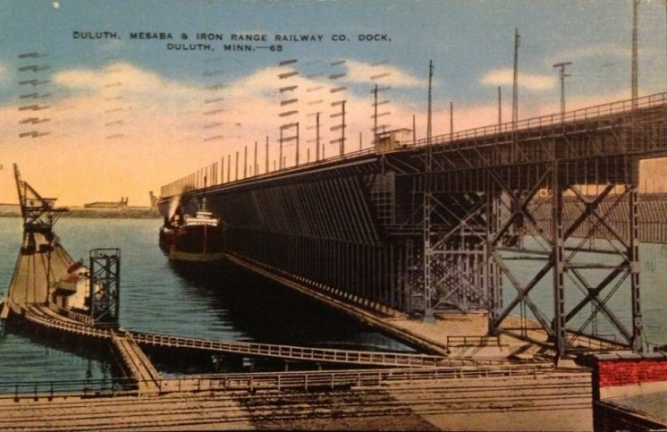 Duluth, Mesabe & Iron Range Railway Co. Dock 1941