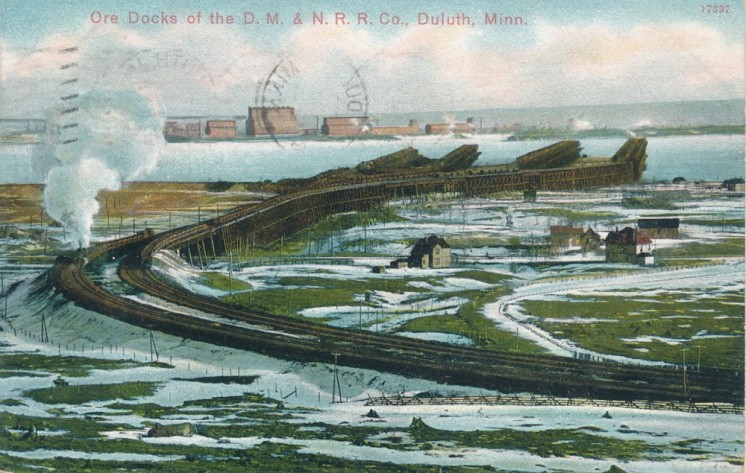 Ore Docks of the D.M. & N.R.R. Co. - 1909