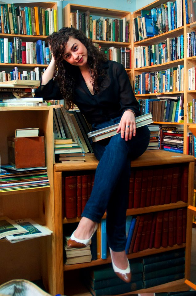 Sarah Krueger hits the books