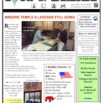 Lake Superior masons, past Portorama leader and more in the <i>Look at Lakeside</i> newsletter