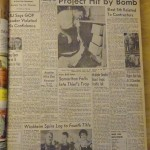 Summer of '65: Trailer at Dredging Project Hit by Bomb
