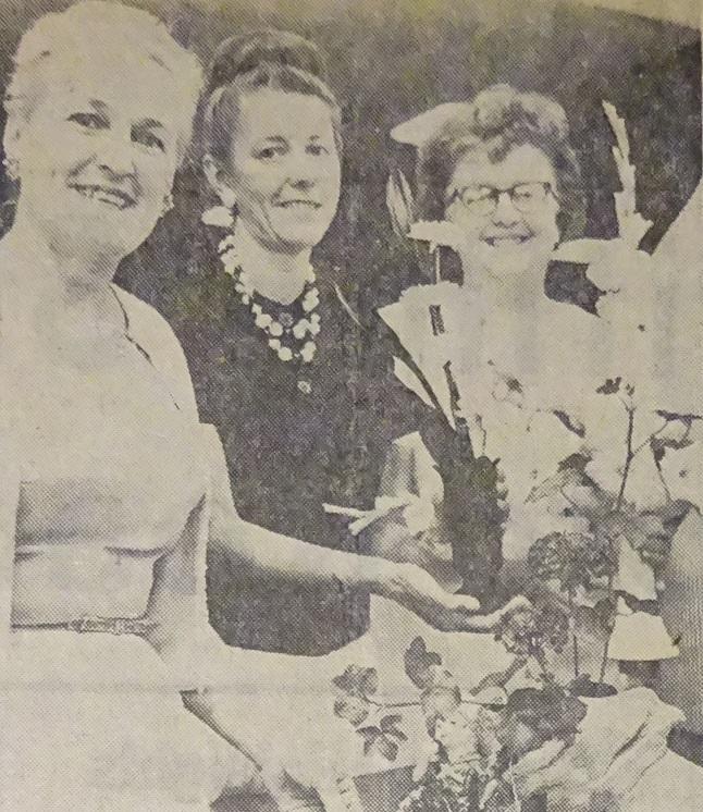 Flower Show Ladies