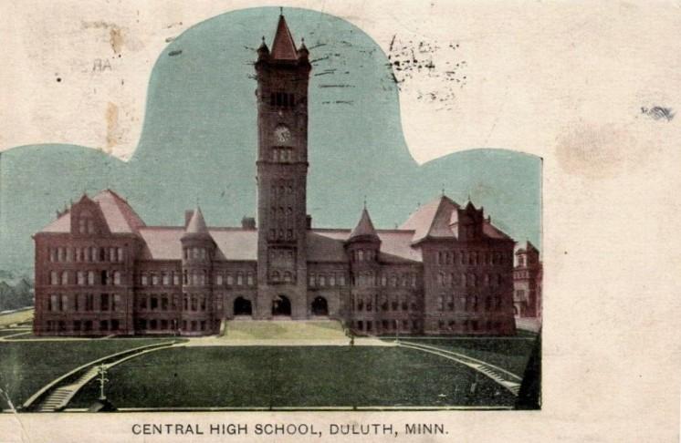Central Hich School Duluth Minn