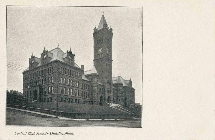 Central High circa 1905