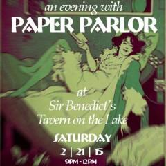 Paper Parlor at Sir Ben's