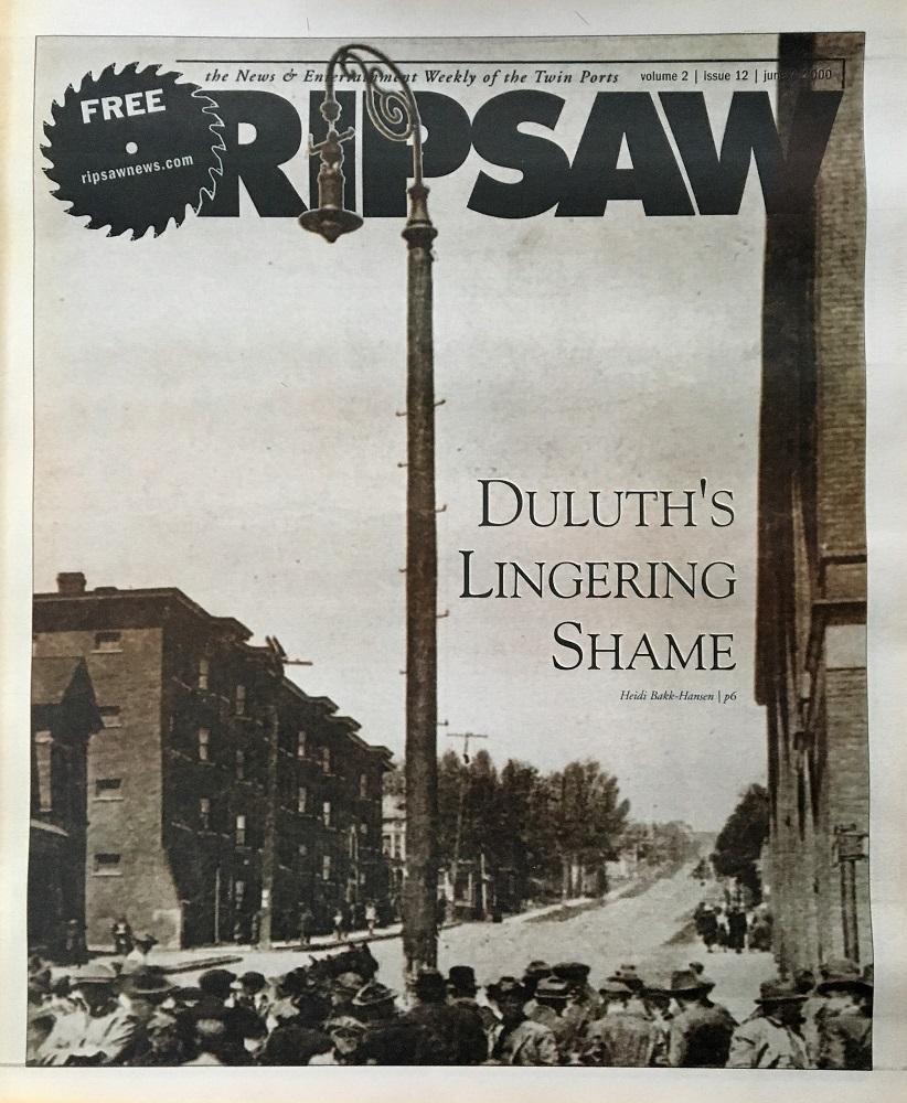 Ripsaw Duluth's Lingering Shame