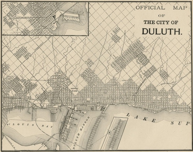 Official Duluth Map