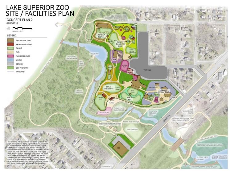 Zoo Facilities Concept Plan 2