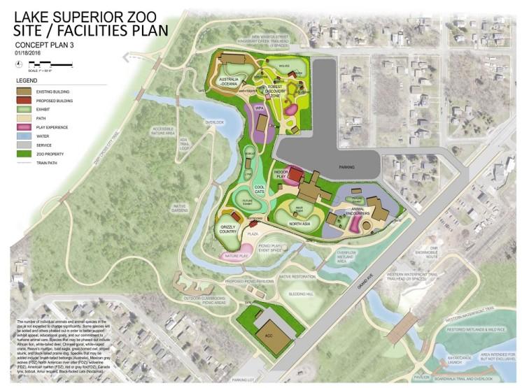 Zoo Facilities Concept Plan 3