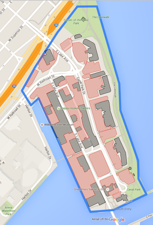 Canal Park Map