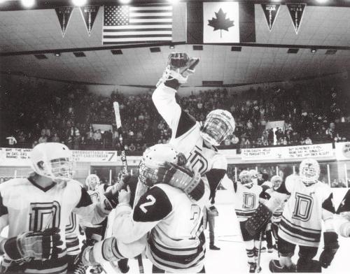 Denfeld 1986 Hockey DNT photo by John Rott