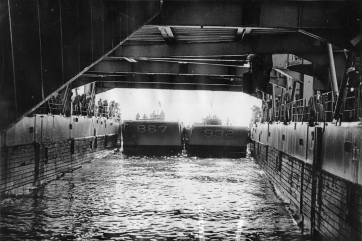Stern of USS Duluth
