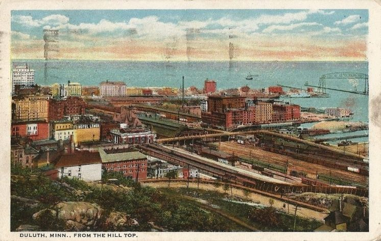 Duluth from the Hilltop 1923