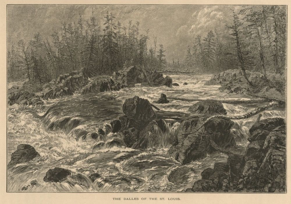 Dalles of the St Louis River