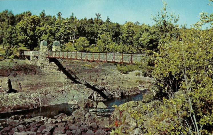 Swinging Bridge at Jay Cooke