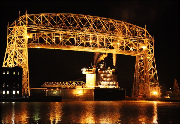 Aerial Lift Bridge Begins Summer Hours Perfect Duluth Day